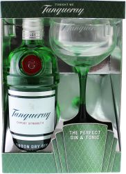 Tanqueray s 1 pohárom